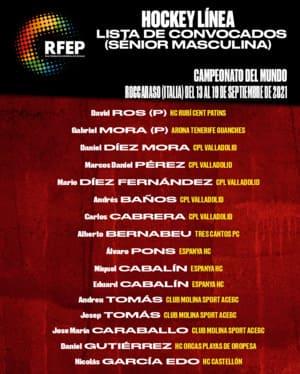 3 jugadores de EHC al Mundial de Roccaraso (Italia)