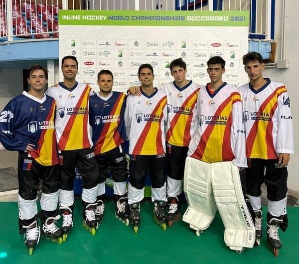 Medalla de bronce para la selección española en el Mundial de Roccaraso